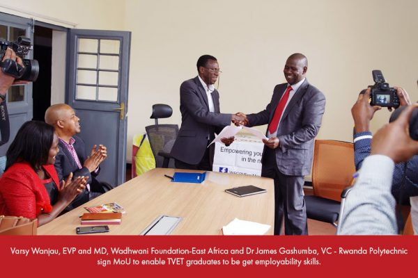 MoU with Rwanda Polytechnic