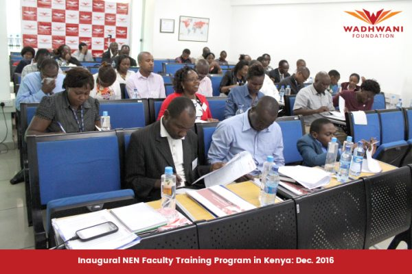 NEN Faaculty Training in Kenya